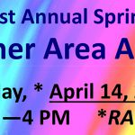 Fletcher Spring Art Fair RAINDATE Sat. Apr. 14th